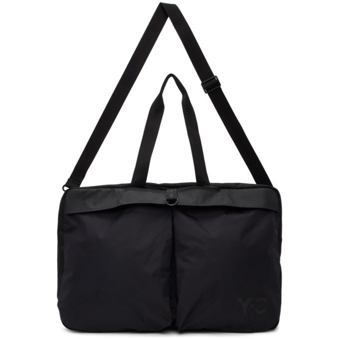 Photo: Y-3 Black Weekender Duffle Bag