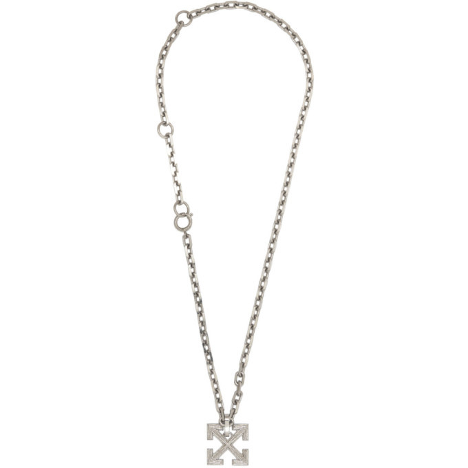 Photo: Off-White Silver Arrows Necklace
