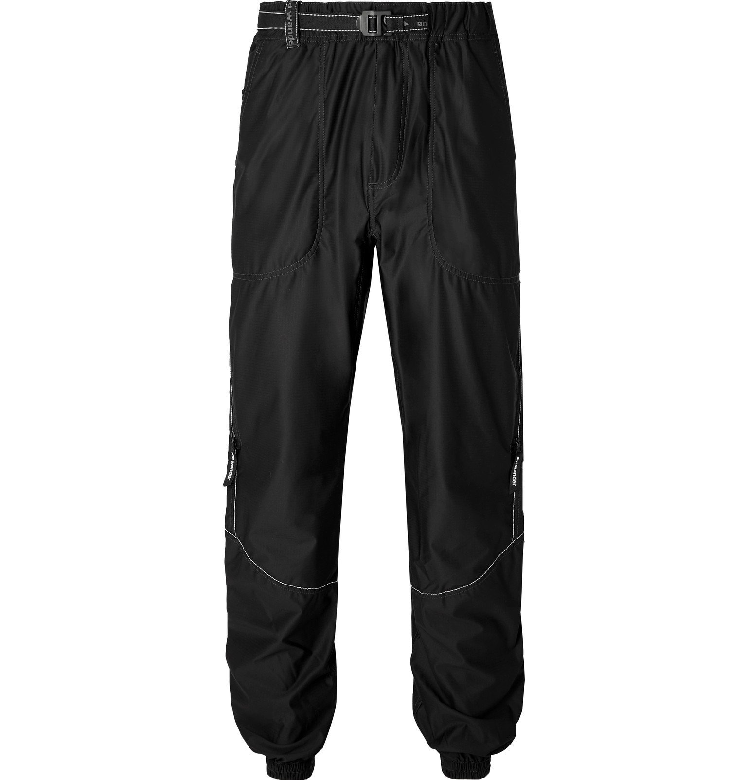 Photo: And Wander - Raschel Ripstop Trousers - Black
