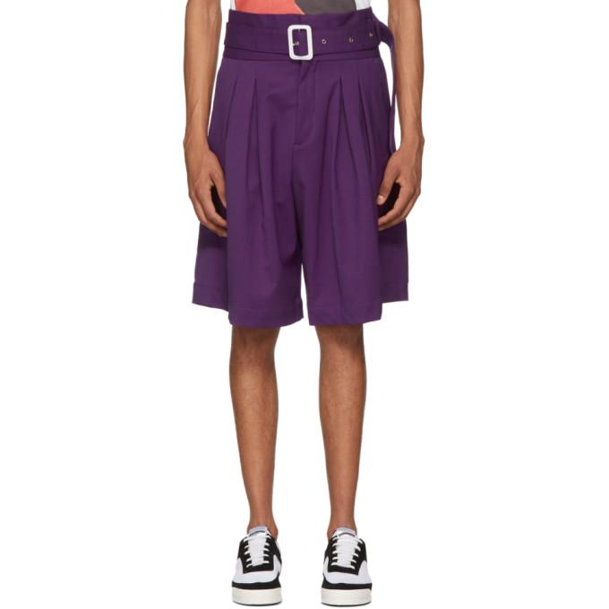 Photo: Kenzo Purple Eighties Shorts