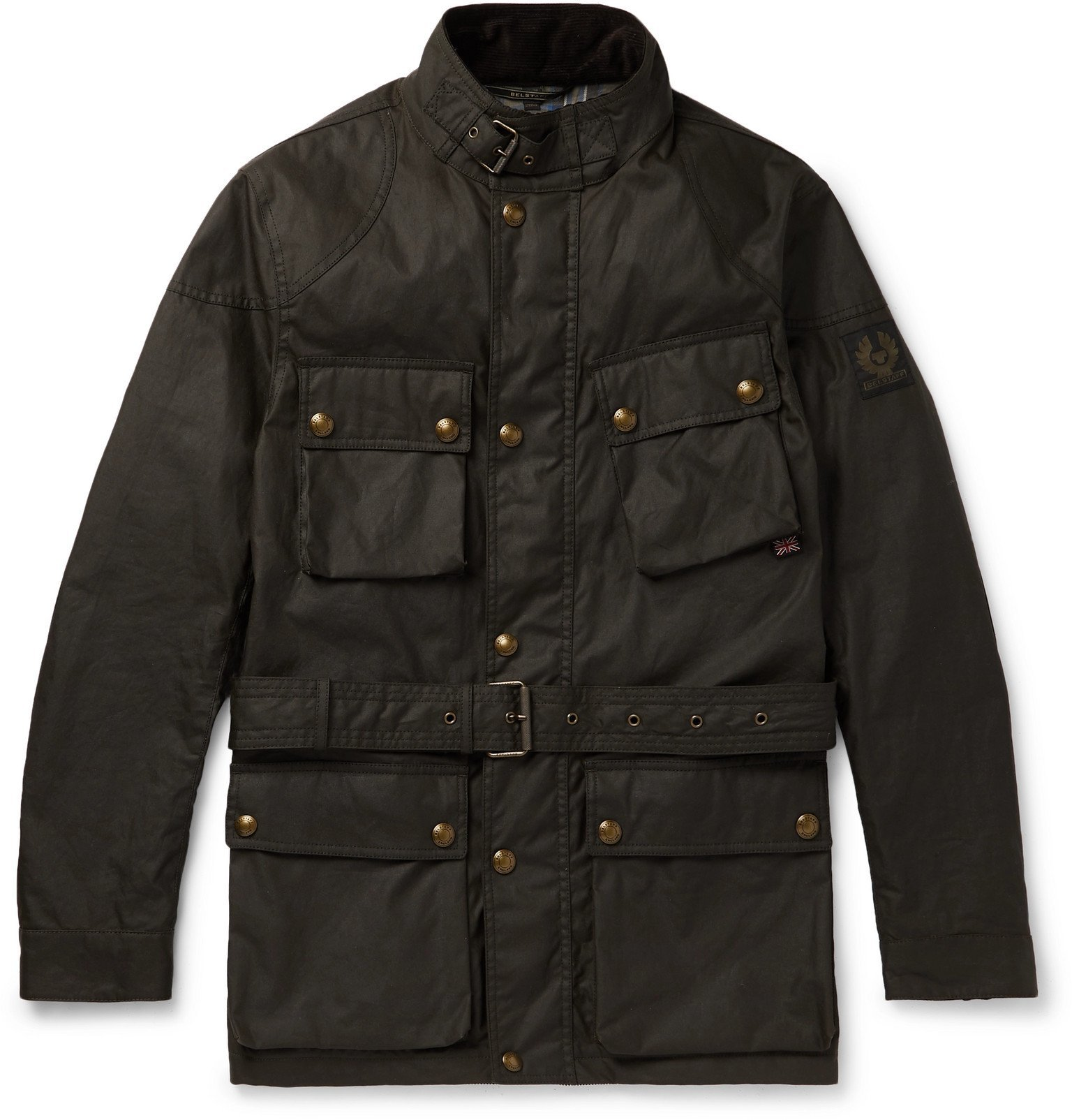 Belstaff - Trialmaster Waxed-Cotton Jacket - Gray