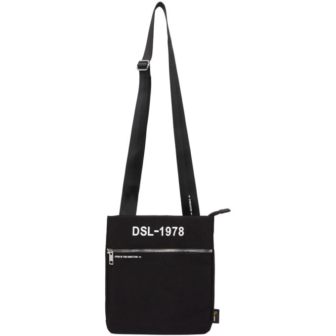 Photo: Diesel Black F-Urbhanity Messenger Bag