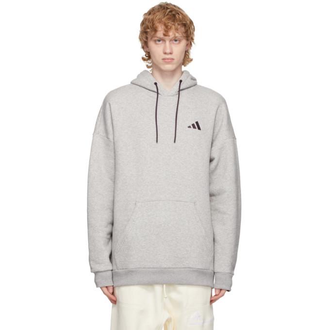 Photo: adidas Originals Grey Fleece Winter Hoodie
