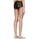 Stella McCartney Black Cornely Lace Bikini Bottoms