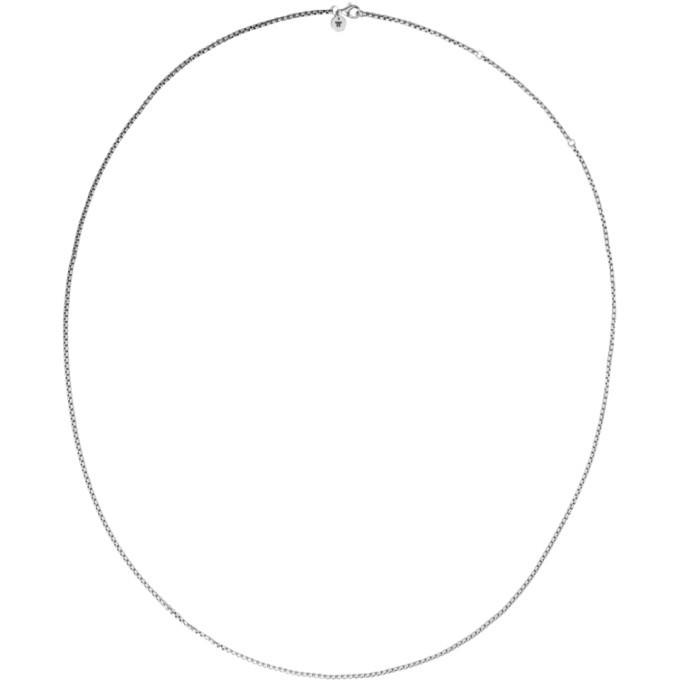 Photo: Tom Wood Silver Single Venetian Chain Necklace
