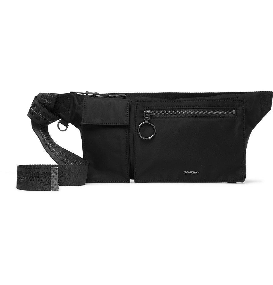 Photo: Off-White - Shell Belt Bag - Black