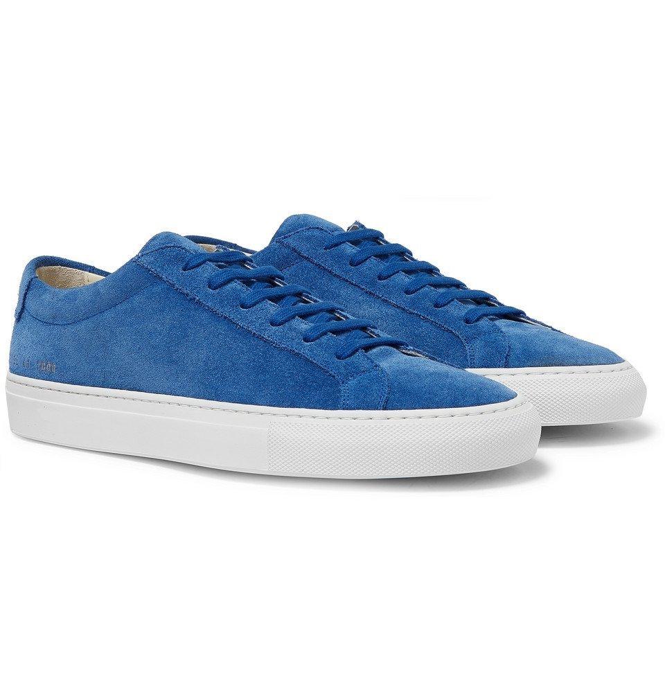 Common Projects - Original Achilles Suede Sneakers - Men - Blue
