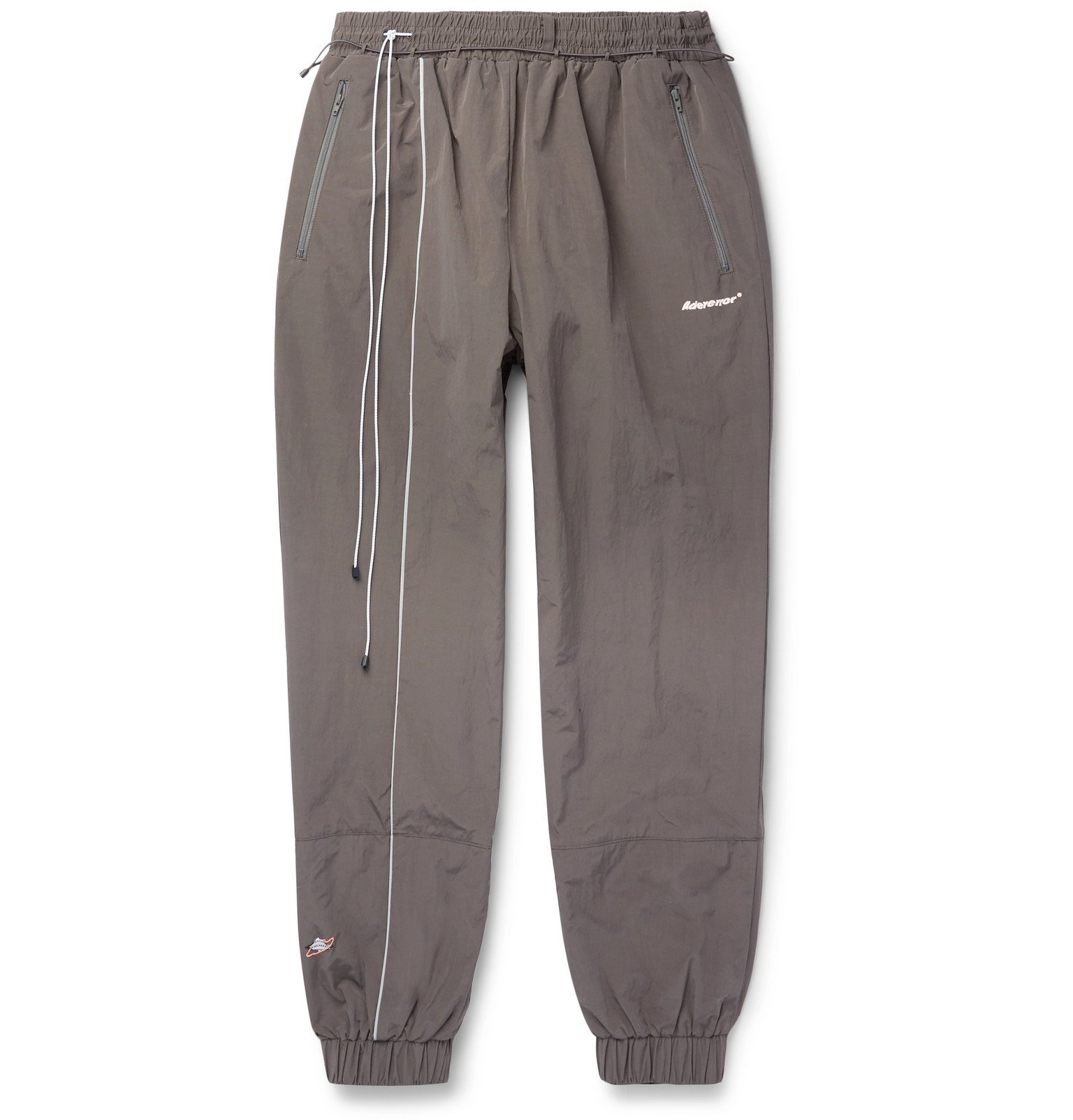Photo: Ader Error - Tapered Shell Track Pants - Gray