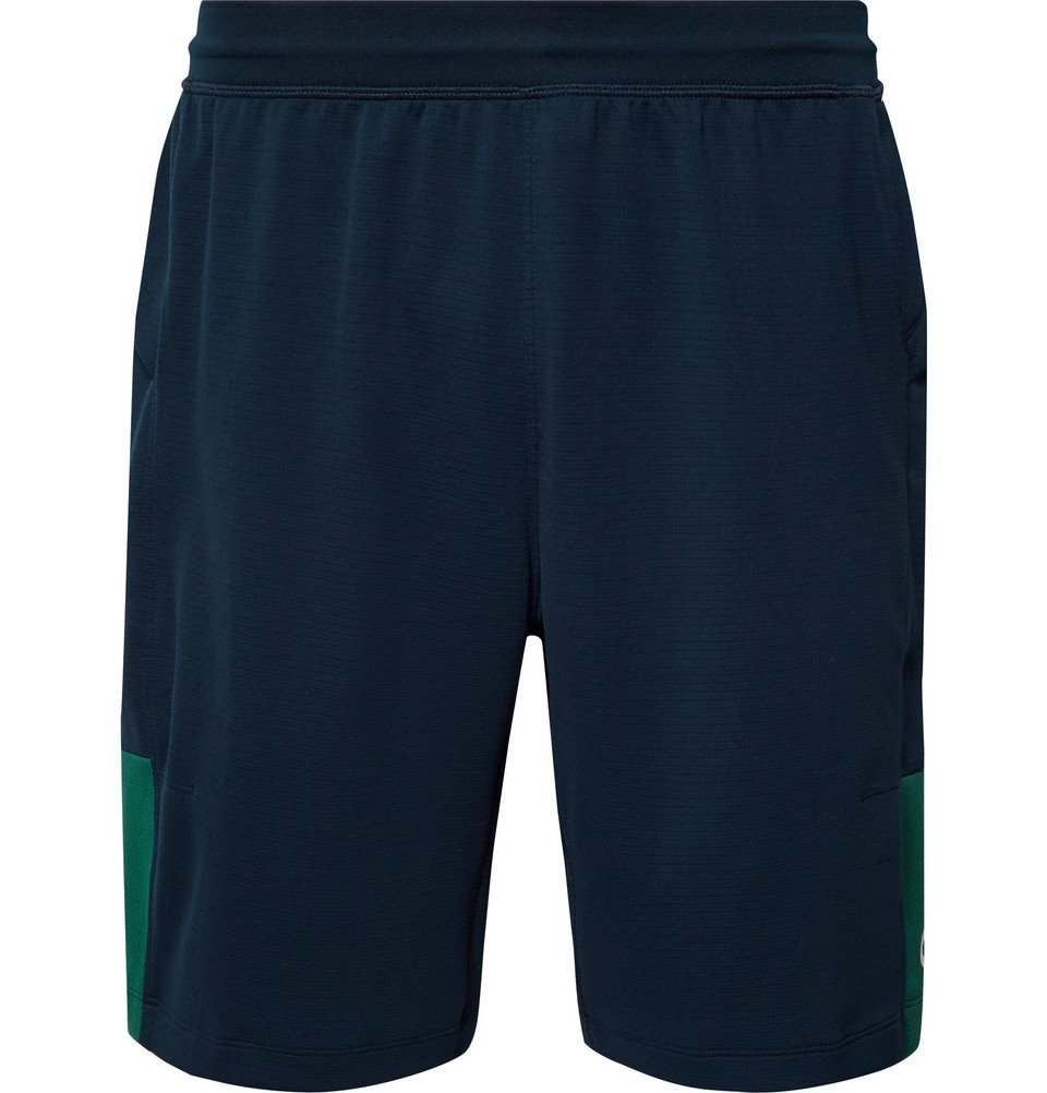 Adidas Sport - Colour-Block Climalite Shorts - Navy