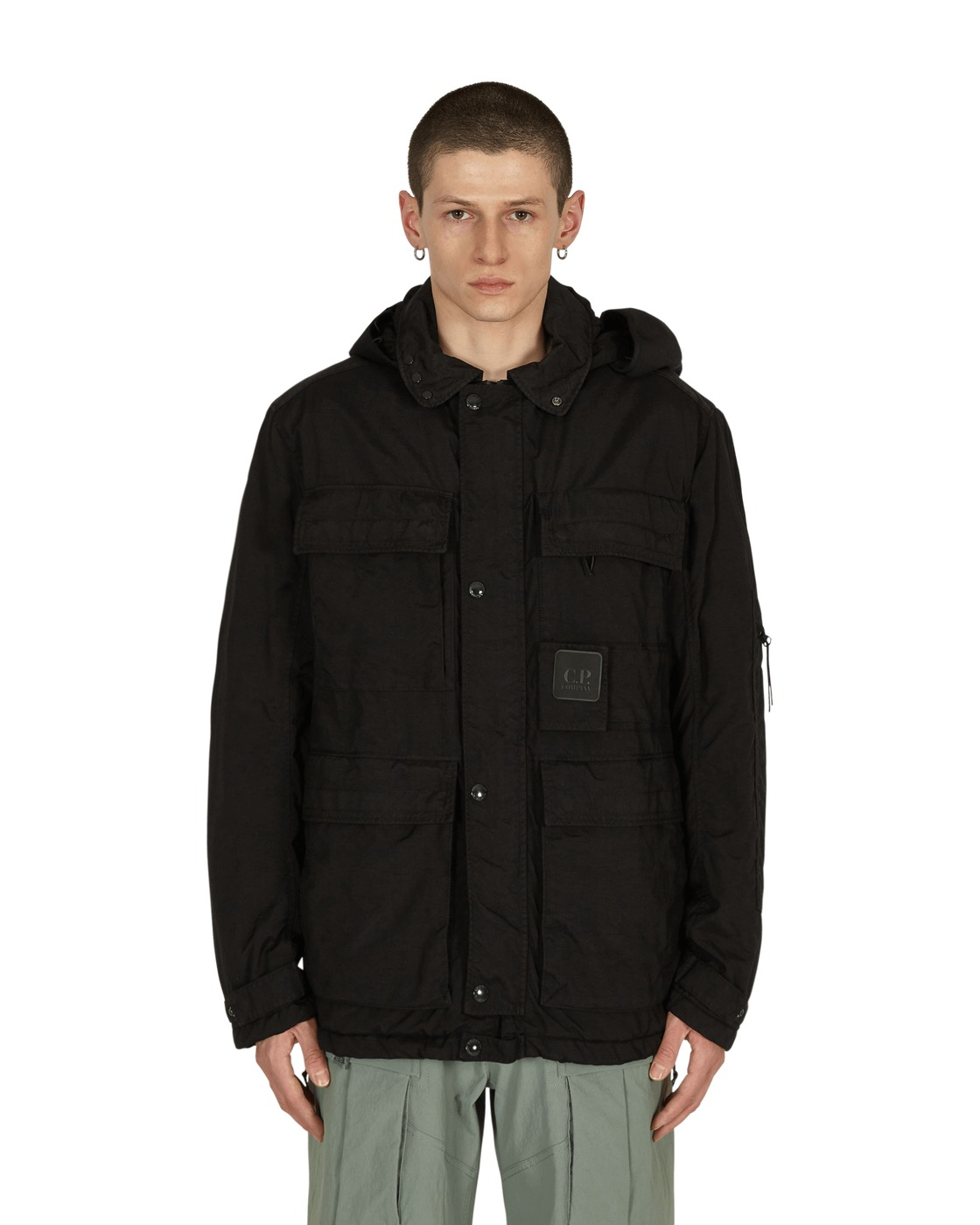 Photo: C.P. Company Field Jacket Black