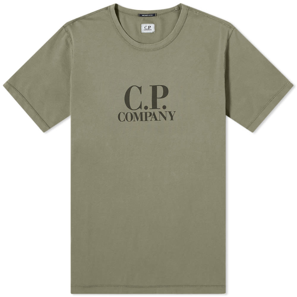 Photo: C.P. Company Big Logo Tee