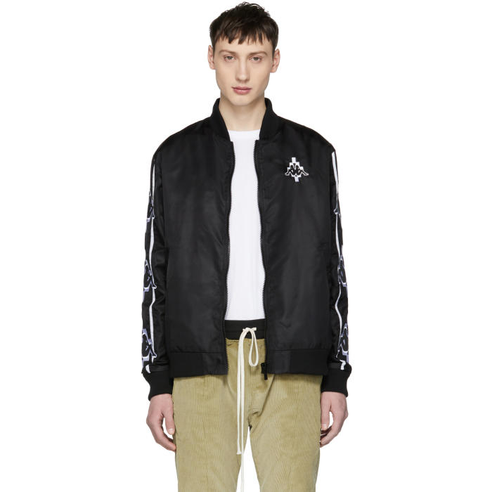 Photo: Marcelo Burlon County of Milan Black Kappa Edition Tape Bomber