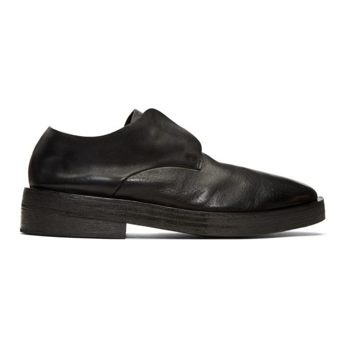 Photo: Marsell Black Listone Loafers