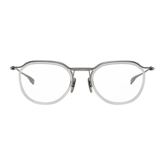 Photo: Dita Transparent and Silver Schema-Two Glasses