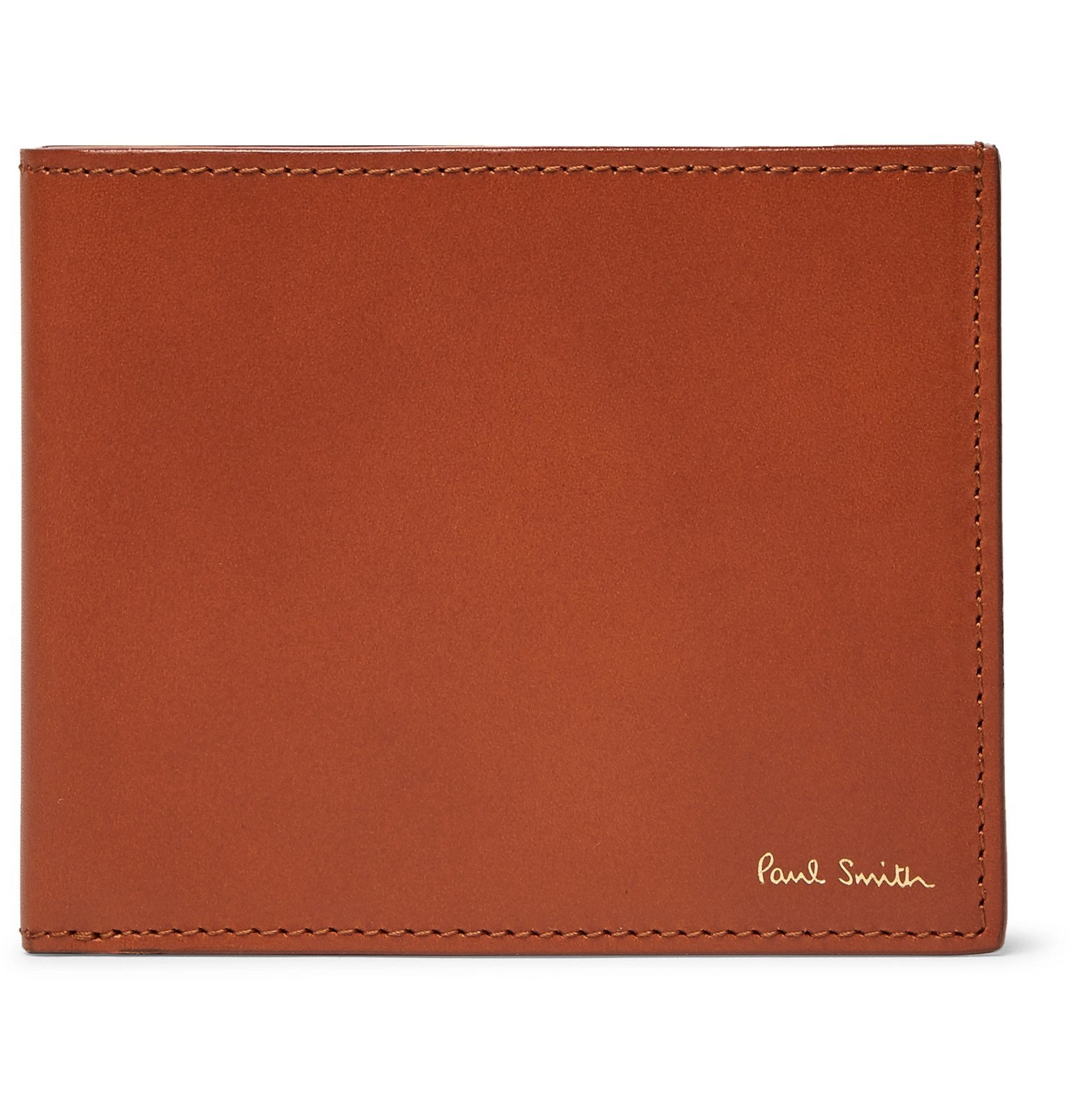 Photo: Paul Smith - Leather Billfold Wallet - Brown