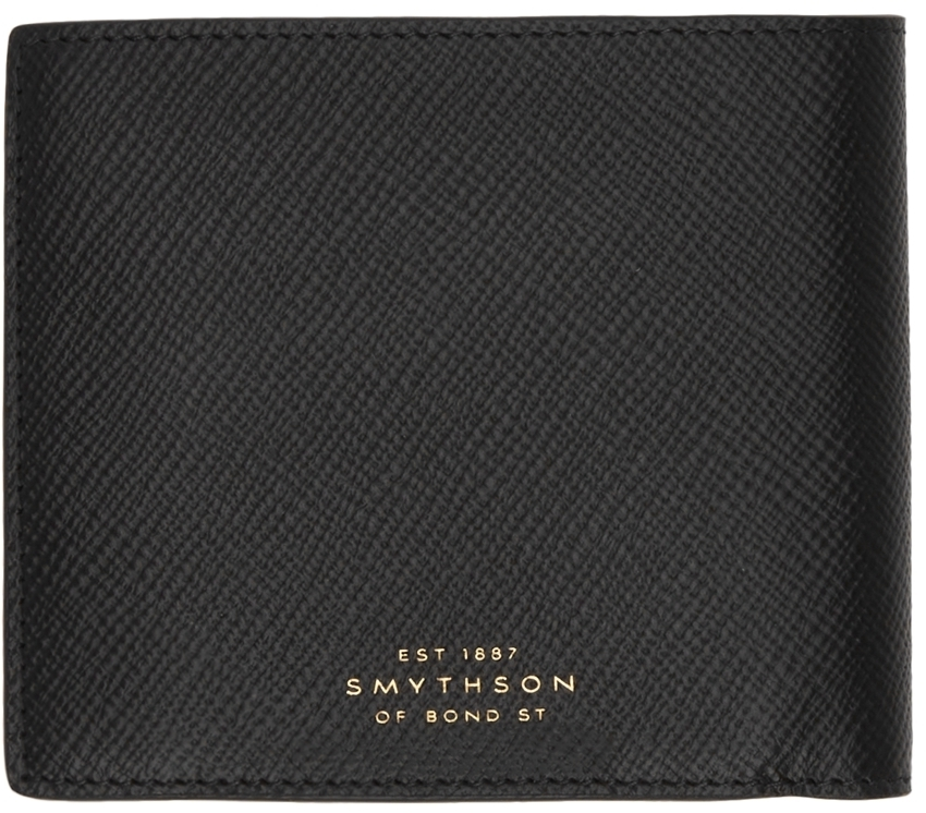 Photo: Smythson Black Panama Coin Pouch Wallet
