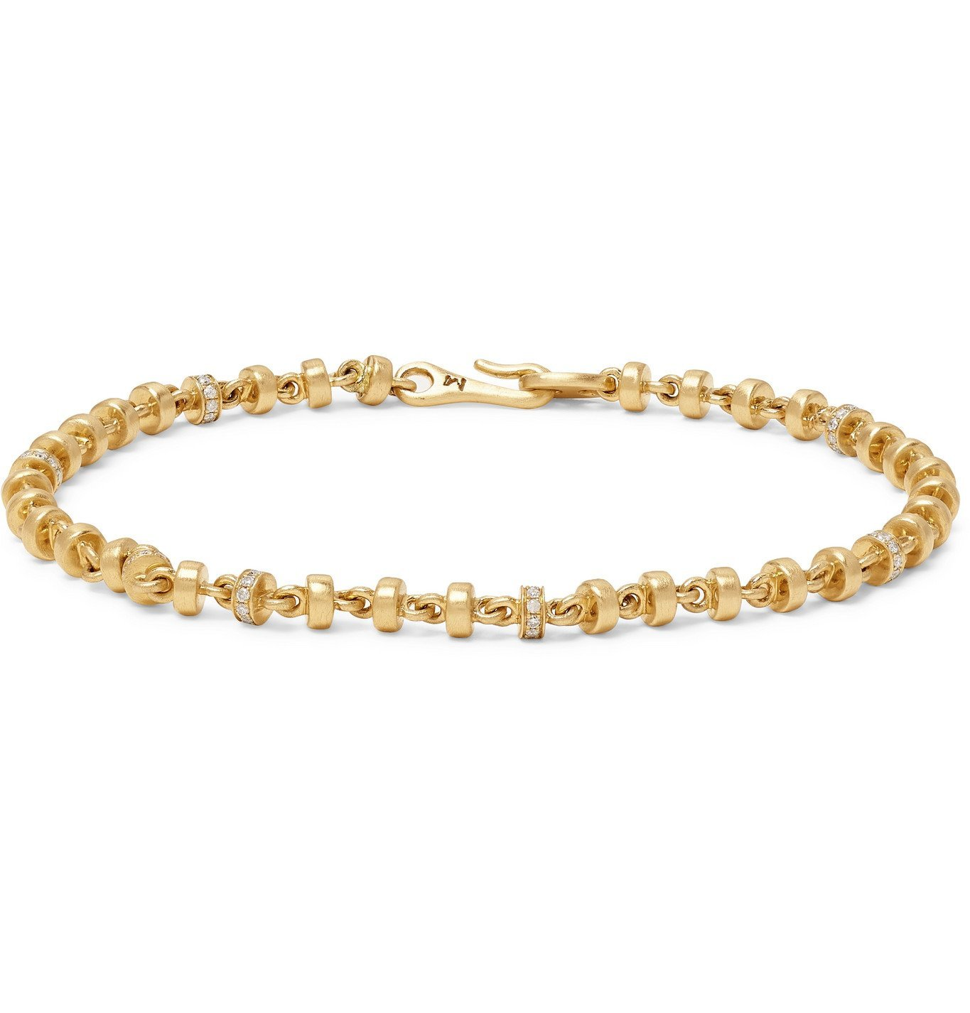 Photo: M.COHEN - 18-Karat Gold Diamond Bracelet - Gold
