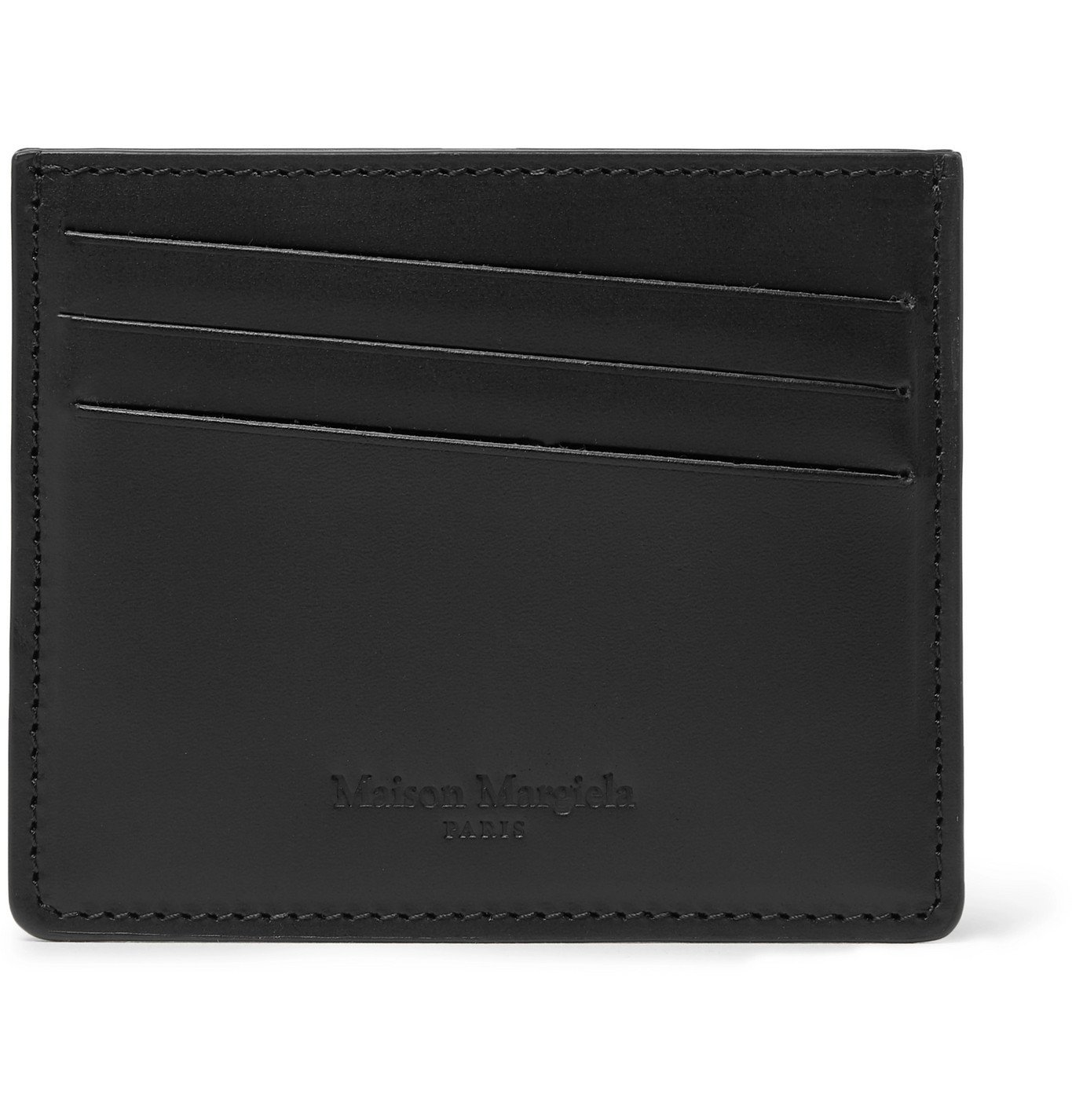 Photo: Maison Margiela - Leather Cardholder - Black