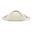 3.1 Phillip Lim Off-White Shearling Mini Luna Slouchy Hobo Bag
