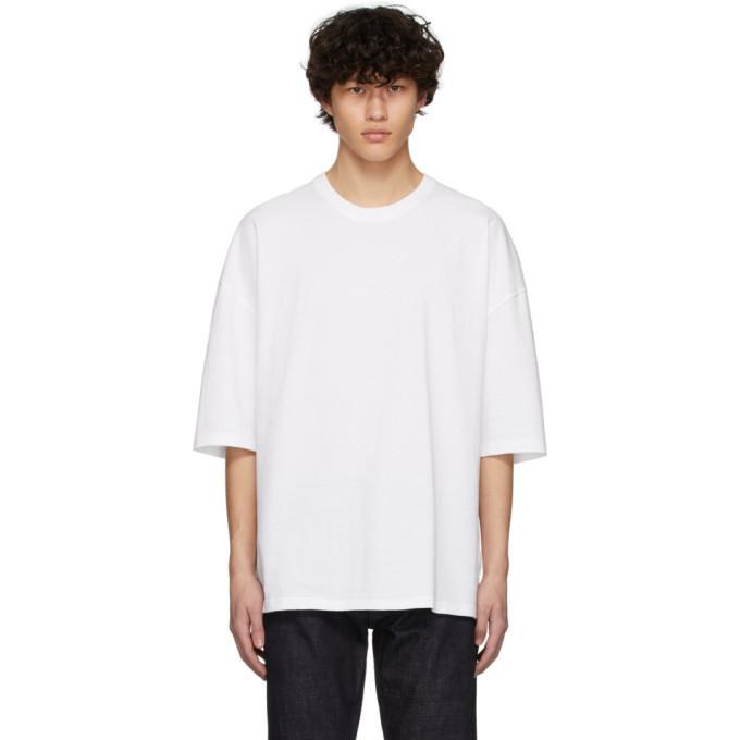 Photo: Bottega Veneta White Oversized T-Shirt