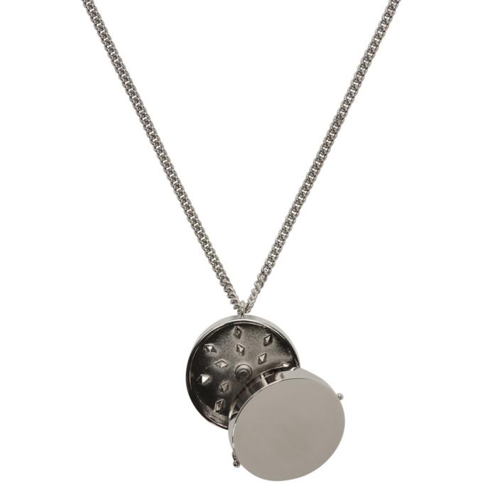 VETEMENTS Monogram Grinder Necklace BwIHYsn2