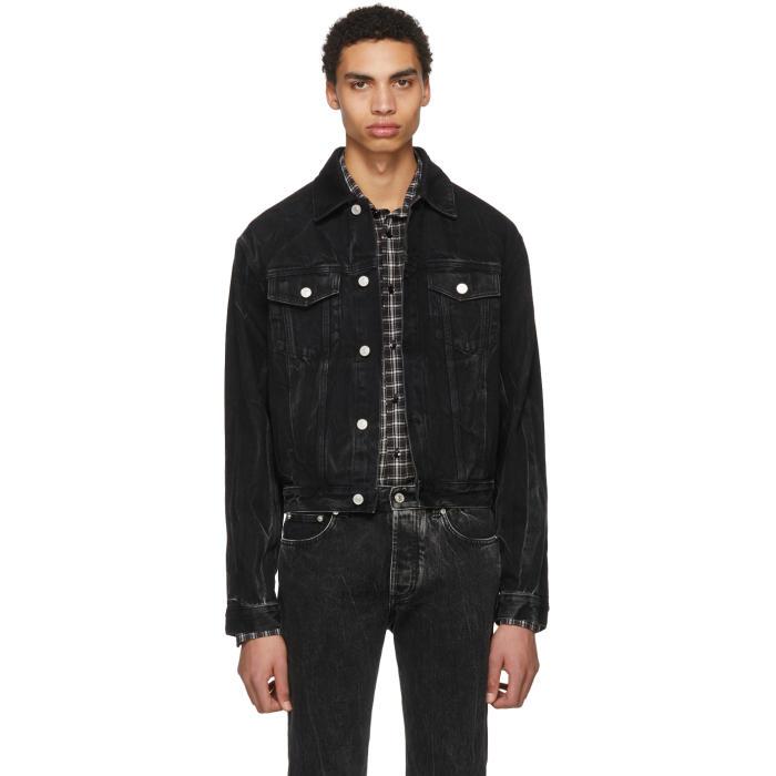 Photo: Givenchy Black Vintage Denim Jacket