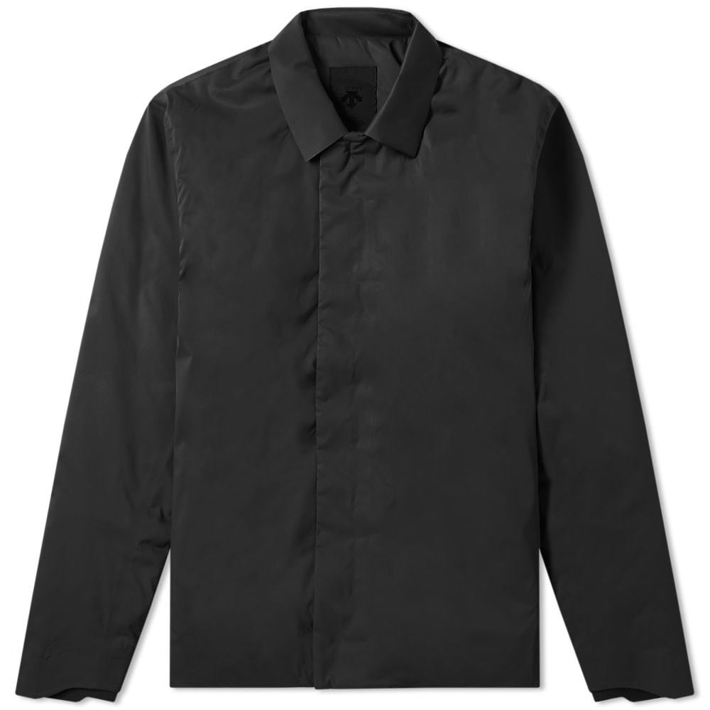 Photo: Descente Allterrain Perforated Insulation Shirt Jacket Black