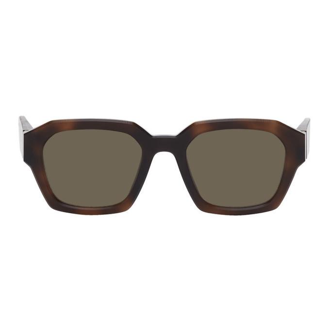 Photo: Maison Margiela Tortoiseshell Mykita Edition MMRAW019 Sunglasses
