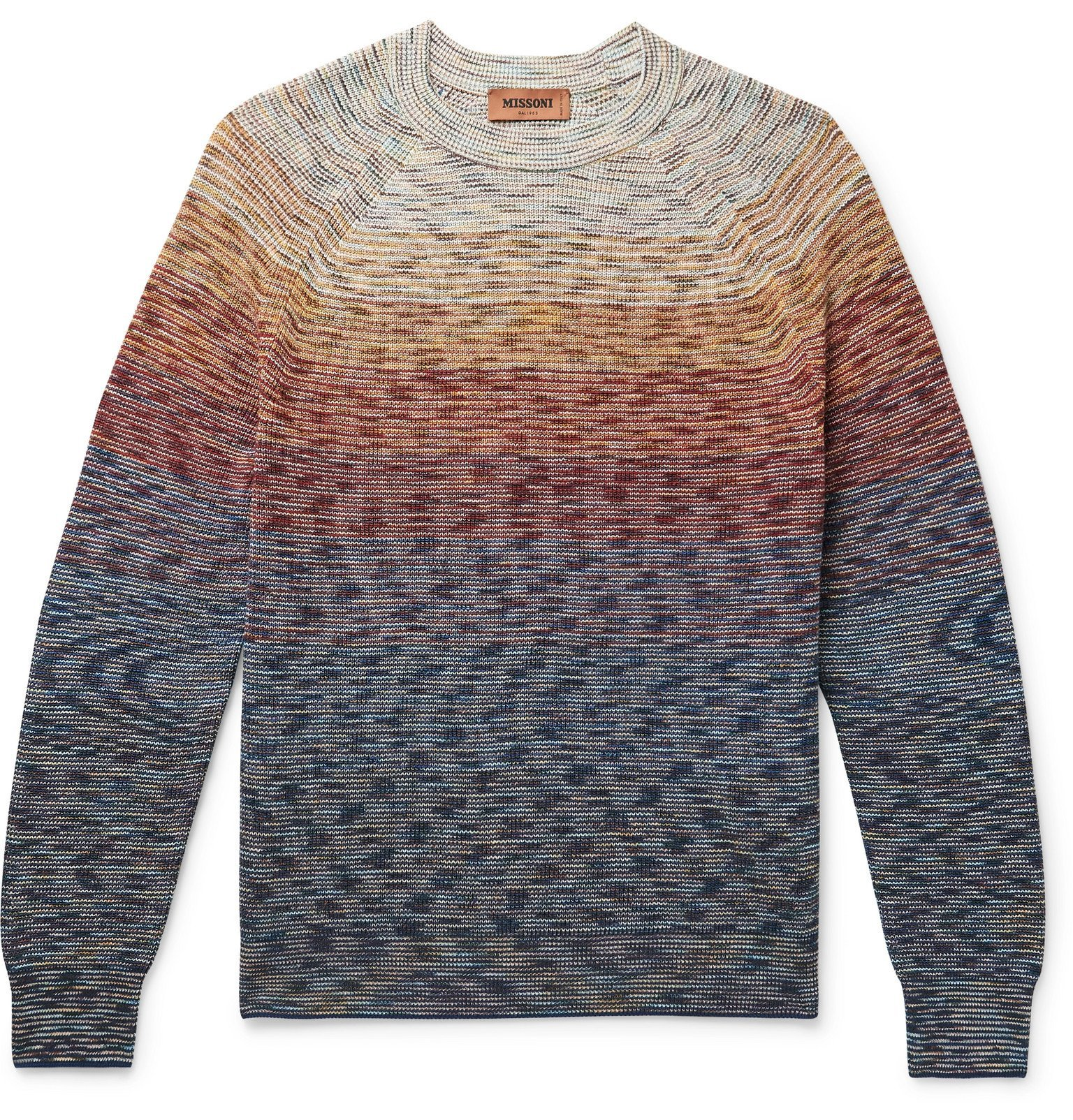Photo: Missoni - Space-Dyed Linen-Blend Sweater - Multi