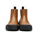 3.1 Phillip Lim Tan Vulcanized Lela Chelsea Boots