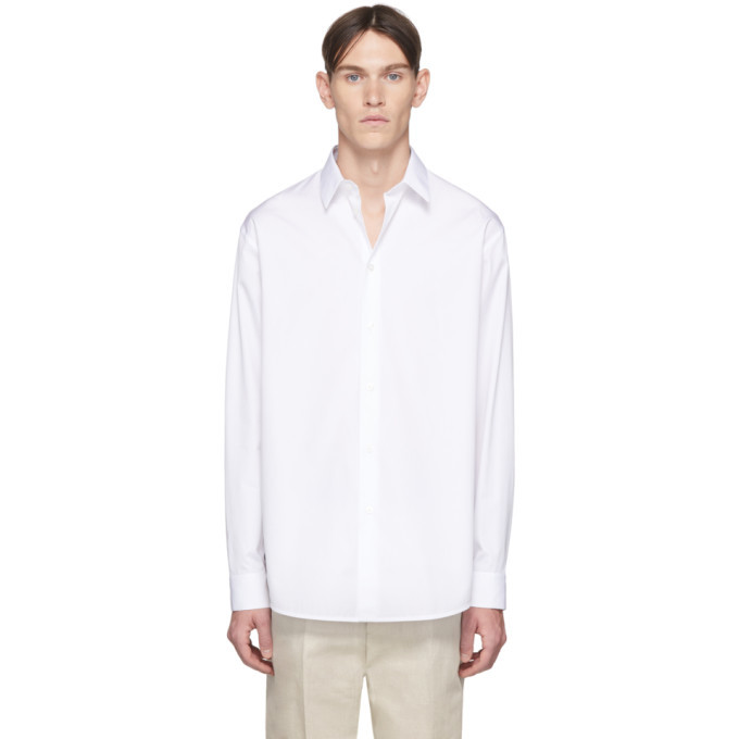Photo: Jil Sander White Essential Shirt