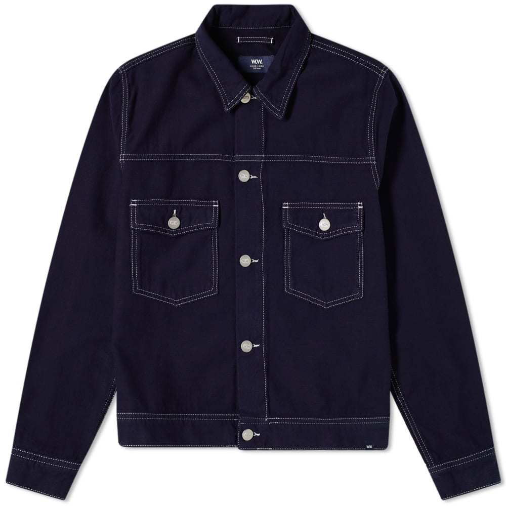 Photo: Wood Wood Cam Denim Jacket