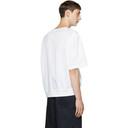 3.1 Phillip Lim White Rib Hem T-Shirt