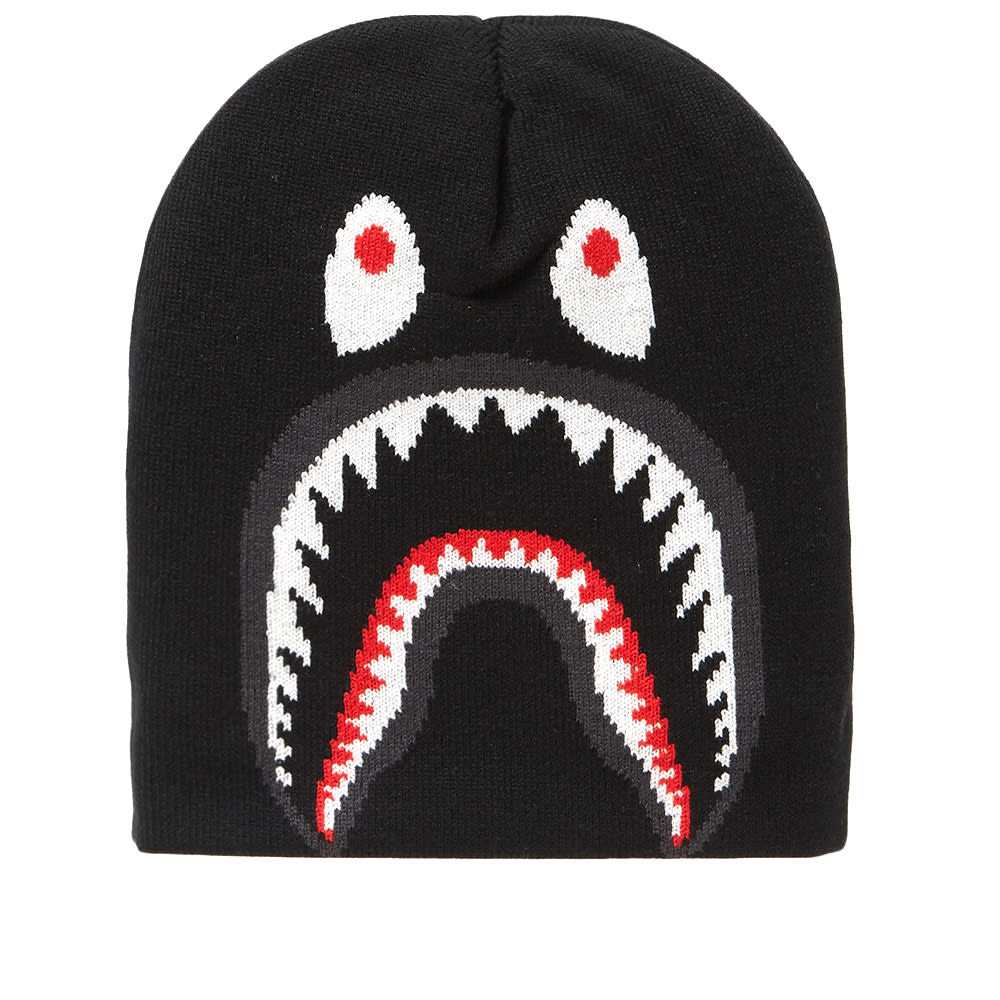 A Bathing Ape Shark Knit Cap A Bathing Ape a521269f069