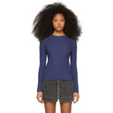 3.1 Phillip Lim Blue Ribbed Sweater