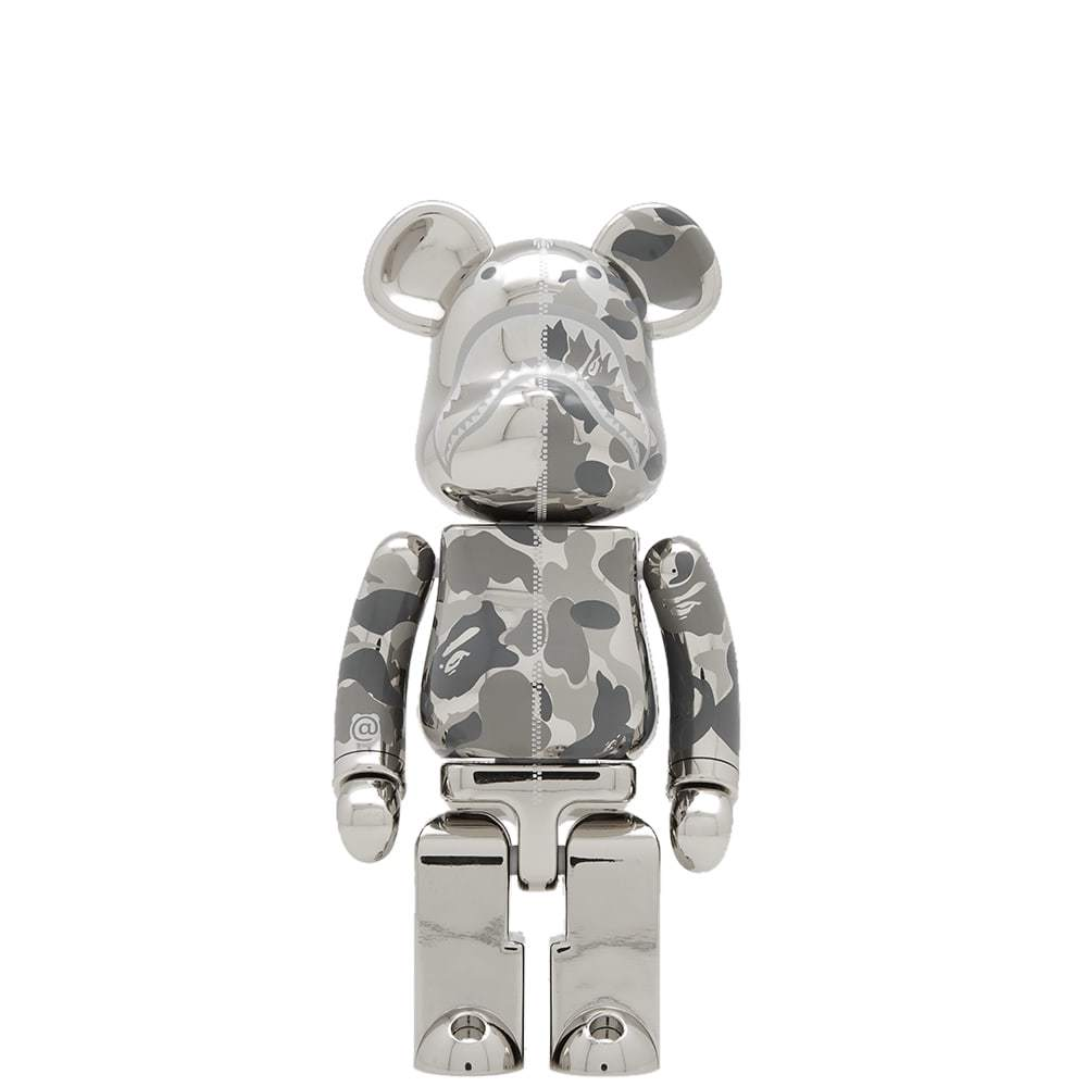 Photo: A Bathing Ape x Medicom Camo Shark Be@rbrick Chogokin