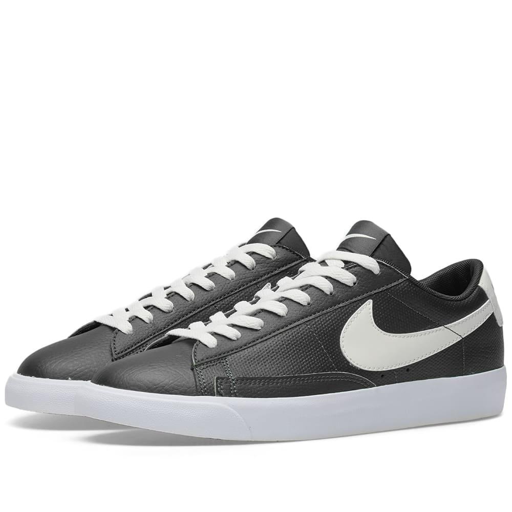 Nike Blazer Low Leather Black Nike
