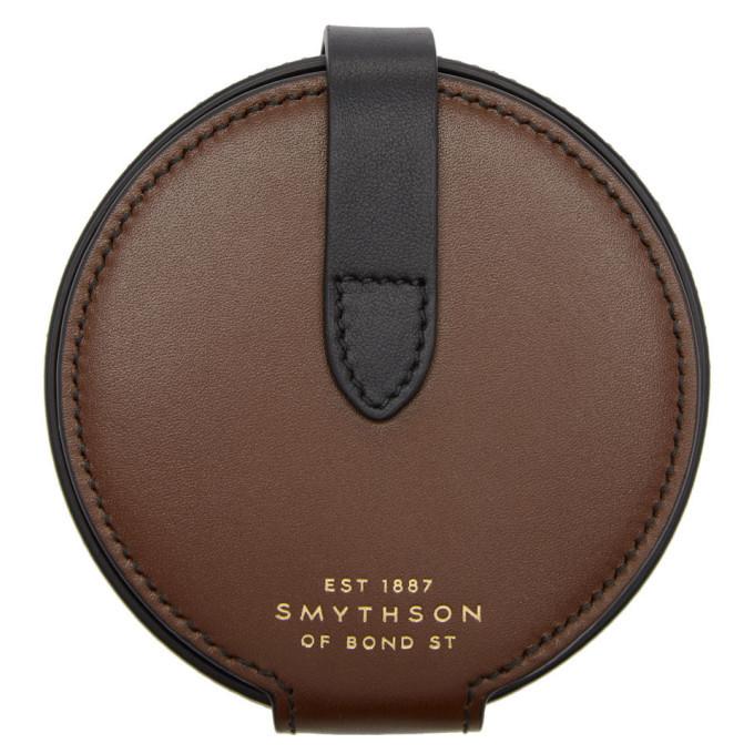 Photo: Smythson Brown Circle Coin Purse