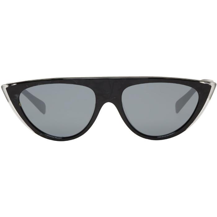 9e8112cc98 Oliver Peoples pour Alain Mikli Black Miss J Sunglasses Oliver ...