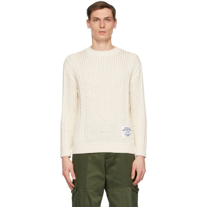 Photo: Stella McCartney Off-White Shared OBS 23 Aran Sweater