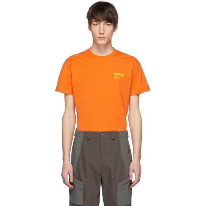 Photo: Affix Orange Logo Standardize T-Shirt