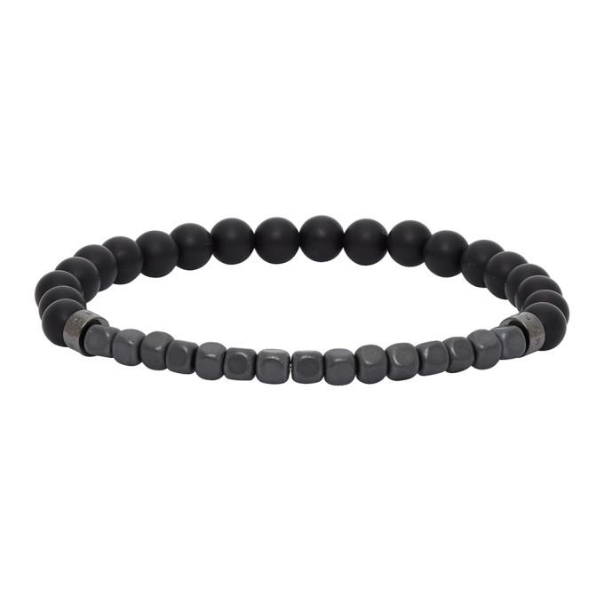 Photo: Boss Black Agate Beaded Bracelet