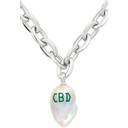Jiwinaia SSENSE Exclusive Silver CBD Baroque Pearl Necklace