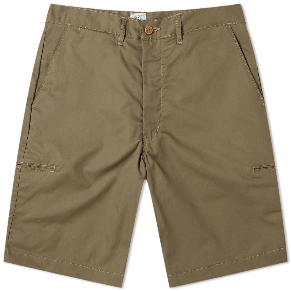 Photo: Post Overalls Cruz Light Twill Shorts