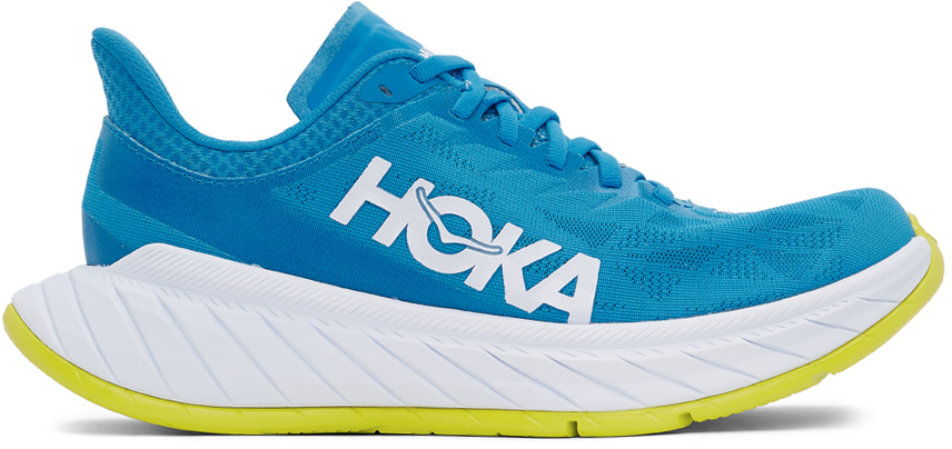 Photo: Hoka One One Blue Carbon X2 Sneakers
