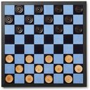 Smythson - Grosvenor Full-Grain Leather Games Compendium - Dominoes, Chess and Checkers - Black
