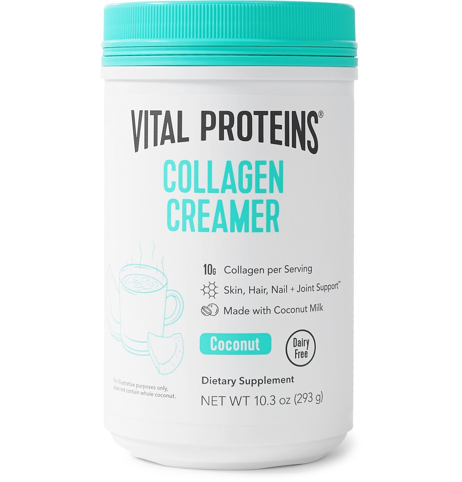 Photo: VITAL PROTEINS - Coconut Collagen Creamer, 293g - Colorless