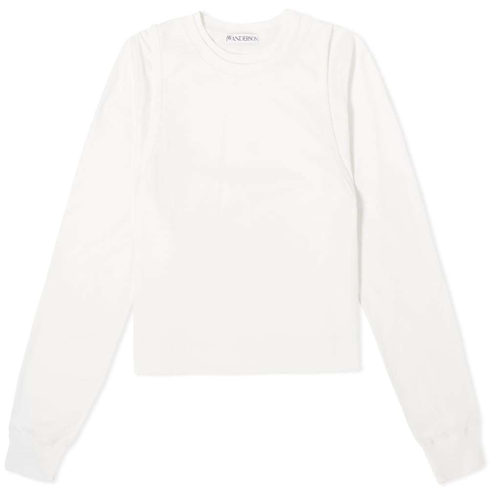 Photo: JW Anderson Double Layer Crew Neck Jersey Top