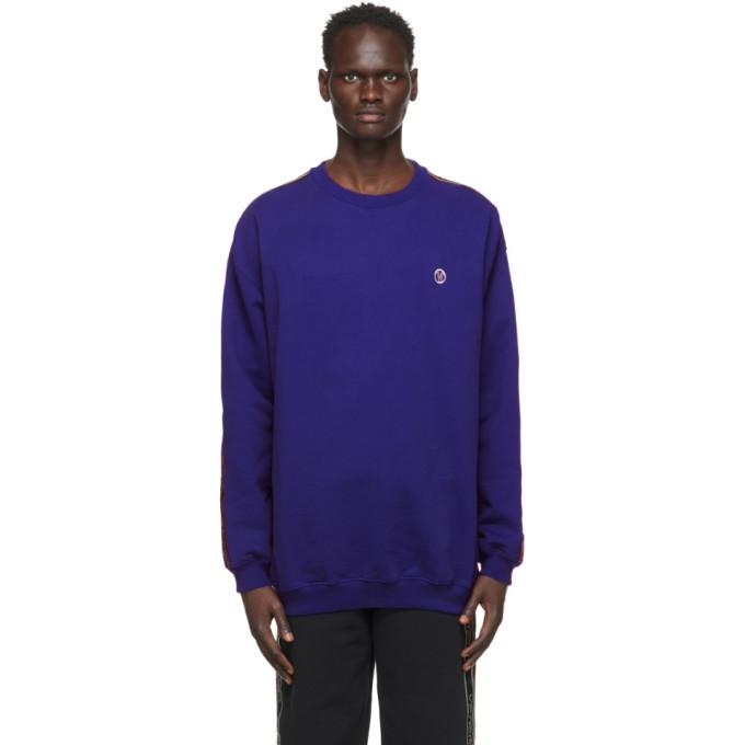 Photo: VETEMENTS Blue Logo Tape Sweatshirt