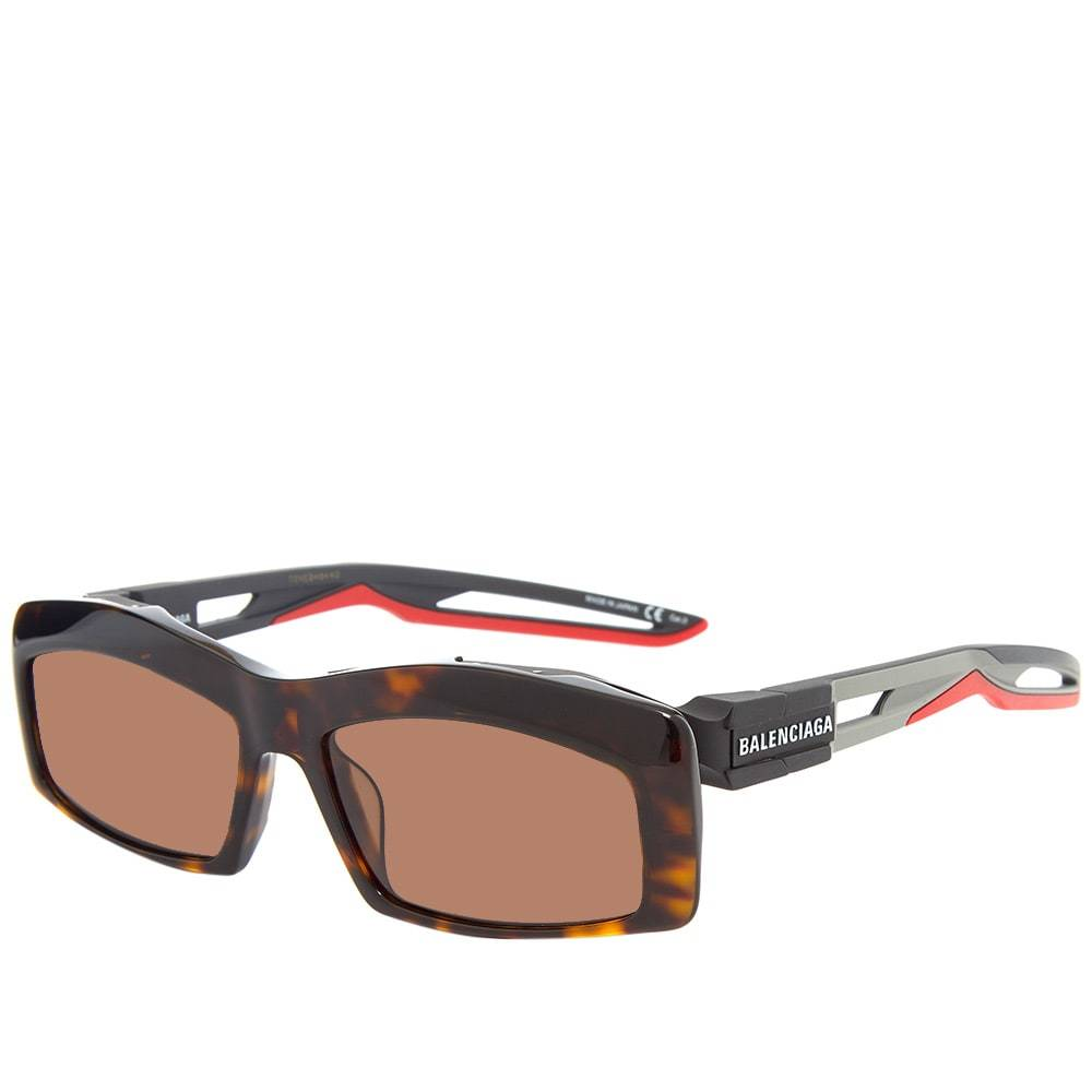 Photo: Balenciaga Hybrid Sunglasses Havana, Grey & Brown